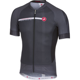 Castelli Aero Race 5.1 FZ Jersey Men anthracite/white
